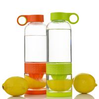 800-900ml fashion lemon drinkware Cheap Hot Wholesale fruit juice cup popular lemon water bottle cup