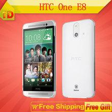 E8 Original HTC One E8 Android Quad Core Mobile Phone 4G 2GB RAM 16GB ROM GPS GPRS WIFI LTE 5''inch 13MP Dual SIM Free Shipping(China (Mainland))