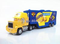Best Gift!  Mack No.70 Gasprin Race Team''s Hauler Truck 1:55  Diecast Pixar Cars Toy  Free Shipping