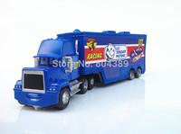 Best Gift!  Mack No.117 LIL TORQUEY PISTONS Race Team''s Hauler Truck 1:55  Diecast Pixar Cars Toy  Free Shipping