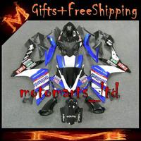 * YZFR1 2007 2008 blue white black Fairing  Fairings Full Tank Bodywork  Set Fit For yamaha YZF R1 2007 2008 28