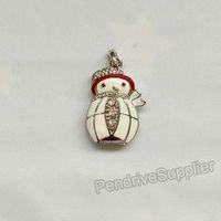 Lovely jewelry pen drive Christmas Snowman Snow man model USB flash drive 2.0 Pen stick memory U disk 4GB 8GB 16GB 32GB
