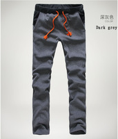 New Arrival Male Fashion Thicken Casual Sport Pants Trousers Warm Sweatpants Trousers Big Size M-XXXL