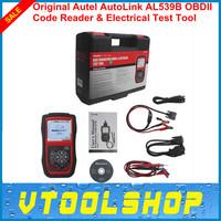 2014 New Arrival auto diagnostic scanner original Autel AL539B autolink AL 539B al-539b code scanner DHL free update online