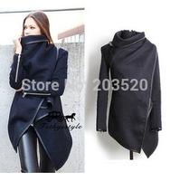 New Women Jacket Coat autumn Winter Woolen Long Sleeve Overcoat Fashion Trench Desigual Woolen Coat Casacos Femininos S-XXXL