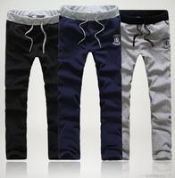 2014 New loose Men's Pants Fashion Long Joggers Sweatpants Plus velvet Sports Pants Trousers Working Pants For Male