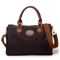 New arrival 2014 women messenger bags folding shoulder women's leather Handbags dumplings portable female travel Tote 0Large