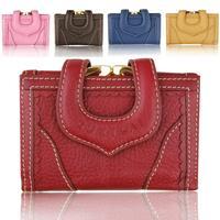 Quality guarantee women clutch bags & purse 2015 genuine leather wallet fashion card money holder woman carteira