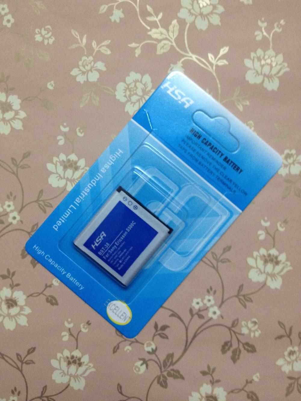 2400 mAh BST-38 / BST 38 bateria de alta capacidade para Sony Ericsson Xperia X10 mini / W980 / Z770i / C510 / C902 / C905 / K770 / K858 / / K850 / R300i(China (Mainland))
