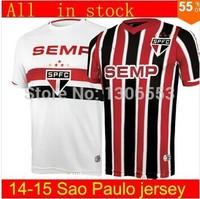 Topo 3AAA+ Qualidade Brazilian 2014 Sao Paulo jerseys,Frete Gratis Sao Paulo Camisa pode ser personalizado nome