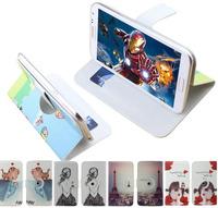 Print drawings 360 rotation pu leather cartoon Universal case for Jiayu G3 G3C G3S,gift