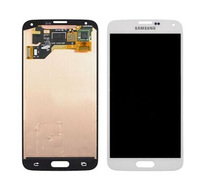 For Samsung i9600 S5 Cellphone LCD Screen Digitizer Clear OEM Mobile Phone LCD Touch Display Clear Display Design Hot Sale