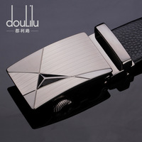 Sided first layer of leather men's casual leather belt automatic belt buckle belt genuine product T001 Korean