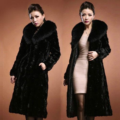 Faux Fur Collar Winter Coats
