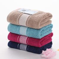 Best New 2014 100% Bamboo Beach Fibre Towel Face Towels For Adults 4Pcs/Lot Hand Towel 100% Cotton Towel Set Dropshipping