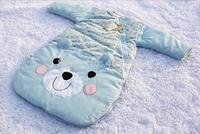 Free shipping carton printing childern sleeping bag100 cm length for baby1-3 Years old