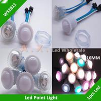 16mm WS2811 Led Point Light IP65 Waterproof Led Point Light RGB Full Color Module DC5V