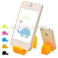 Kpop Innovative Items Multipurpose Cute Fashion Calf Elephant Holder Stand Bracket for Mobile Phone Tablet Pc 5Pcs/Lot