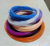 Free Sample 1.75mm 3.0mm PLA ABS PVA Filament For 3D Printer