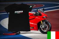2014 New Freeshipping T-shirt 1199 1199 Panigale superbike Motorcycle Tshirt