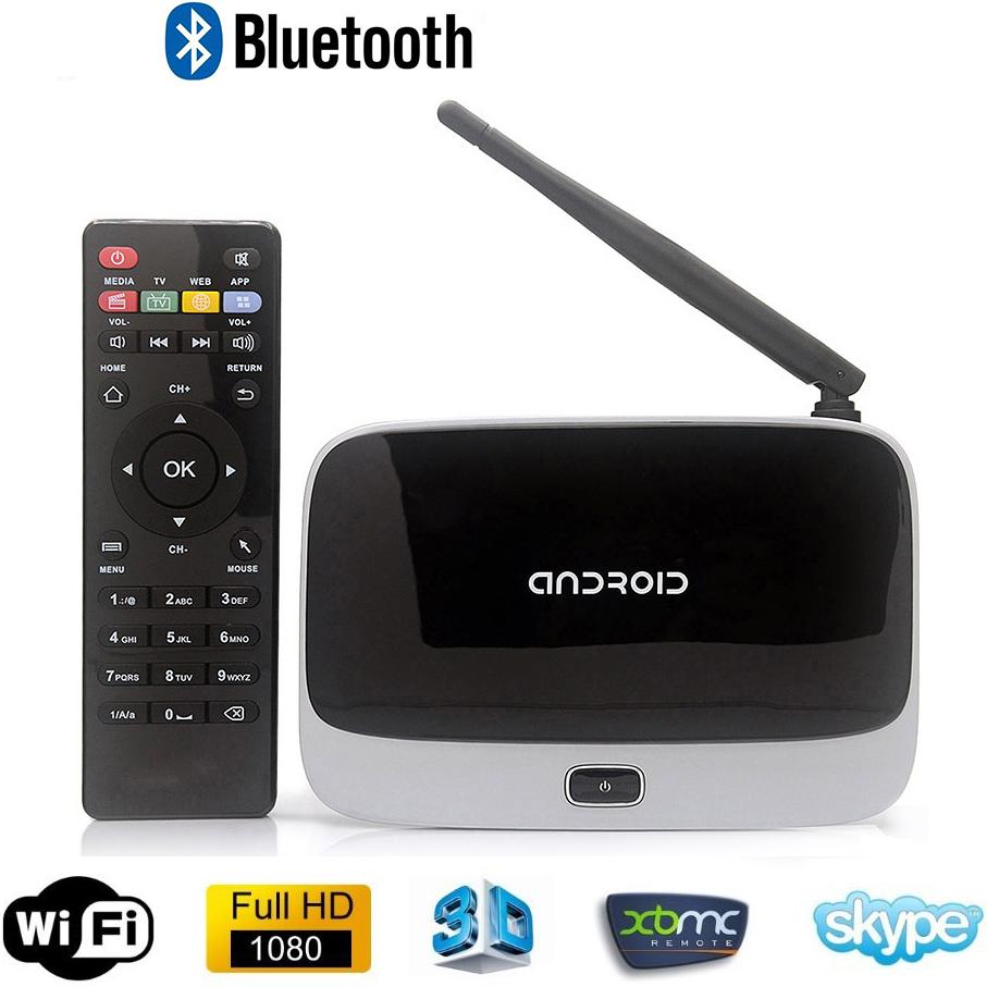 Bluetooth Smart Android TV Box XBMC EKB311 CS918 Quad Core Set Top Box Android 4.4 2GB+8GB RK3188 28nm Cortex A9 Mini PC T-R42(China (Mainland))
