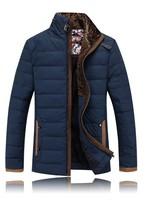 Mens winter jackets and coats down parka 2014 men casual jackets warm men's slim thick coat  parka de los hombres fur collar