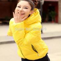 Hot Sale Fashion Women Clothing  Parkas Winter Female Down Jacket Winter Coat Color Overcoat Women Jacket Parka Free shipping