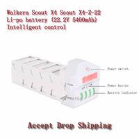 Walkera Scout X4  22.2V 5400mAh Li-po battery,free and drop shipping