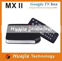 MXII Android 4.2 TV BOX Amlogic MX Dual Core Smart TV 1G/8G XBMC A9 Remote Control WiFi USB RJ-45 AV HDMI Media Player MX II