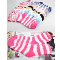 New Women Thickening Towel Floor Fashion Keep warm Base Sleep Socks V3NF