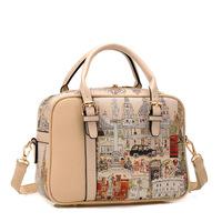 women's handbag fashion vintage women's print fashion handbag cross-body shoulder bag