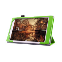 Xperia Z3 Tablet Compact  Case - Protective PU Leather Smart Case for Sony Xperia Z3 Tablet Compact (2014 release) -Green