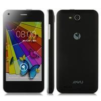 "WCDMA 3G Original JIAYU F1 Android Mobile Phone MTK6572 Dual Core 512MB RAM 4GB ROM 5MP 4"" 800*480 TFT 2400MAh Metal Frame Stock"