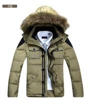 2014 fashion men's winter warm down brand jacket with coat chaqueton de nieve mens ski jacket  mens winter jackets and coats