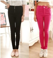 Thermal 2014 thickening autumn and winter plus velvet women's skinny pants pencil pants trousers legging