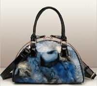 2014 Winter New Collection Women Handbags Bolsas Femininas Quality Patent PU Leather Tote Metal Clip Buckle Shell Shoulder Purse