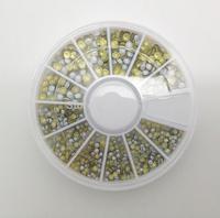 Rainbow Rivets Studs Nail Art Acrylic UV Gel Tips Deco 2 Sizes 3mm 2mm