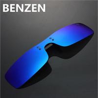 One Piece Lenses Myopia Polarized Sunglasses Clip Sun Glasses Clip Driving Glasses With Case