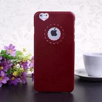 2014 Hot Sale Fashion Flower Window Design Solid Color Pattern  Hard Case Cover for i Phone 6 Plus Color 8