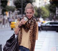 2014 Fashion Leopard print Scarf  Designer scarf Cotton Winter  Scarf Women