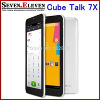 "Original Cube Talk 7X C4 U51GT 7"" ips Tablet PC Screen MTK8382 Quad core Android 4.2 OS Phone Call GPS WCDMA"