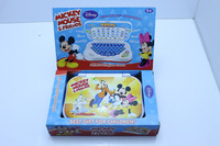 Russian Language toys Y-Pad Learning Machine Toy Tablet Music Sound learning & education Toy juguetes Mickey Mouse&Friends