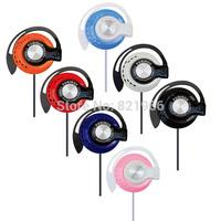 Cheapest High quality Ear Hook Earphone Headphone Headset For iPhone Samsung MP3 MP4  Earphones Free shipping