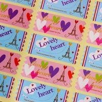 Eiffel Tower Seal Label Sticker,gift Stickers 800pcs/lot