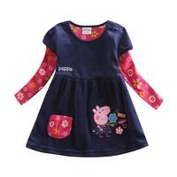 peppa pig girl dress BABI GIRL toddler  DRESS  nova kids peppa pig girls summer dress 2015 princess costume girls dresses