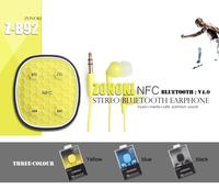 Original ZONOKI Z-B92 sport NFC bluetooth V4.0 headset Wireless headphone headphones earphone for xiaomi iphone 5S 6 Samsung LG