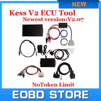Free ship Newest V2.10 2015 High Quality KESS V2 OBD2 Manager Tuning Kit NoToken limitation Kess V2 Master