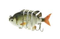"2014 New 3"" Crazy Panfish Multi Jointed Fishing Life-like Hard Lures Swimbaits S-PAN-A Free Shipping"