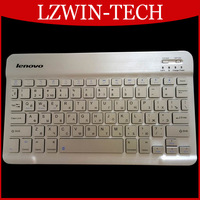 Ultra Slim Multimedia Aluminum General Lenovo Russian Language Bluetooth Keyboard For IOS Android PC  Computer Laptop Tablet