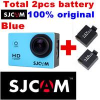 "Original SJ4000 Waterproof HD Camera mini camcorders Sport DV for Gopro Sport DV Novatek 1.5"" LCD H.264 more 1 pcs battery"